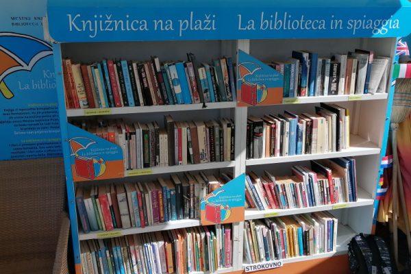 Knjižnica na plaži