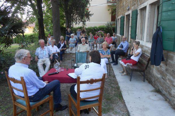 Srečanje s Slavkom Preglom v Kosmačevi hiši