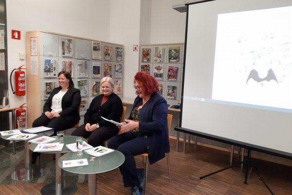 Predstavitev dvojezičnih publikacij Lare Sorgo