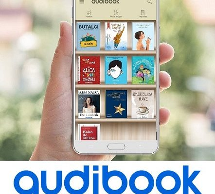Izposoja zvočnih knjig-Audibook