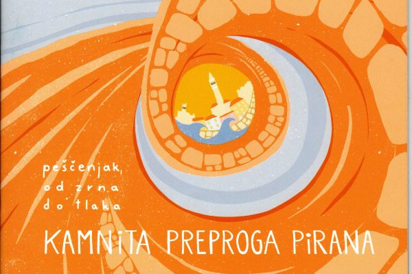 """Predstavitev publikacije """"Kamnita preproga Pirana : peščenjak, od zrna do tlaka"""""""